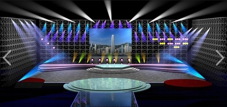 剧场舞台灯光照明其特点主要是讲求现场观赏效果,也就是给现场的人看。这样灯光的设置是按现场人眼睛的感官(观赏能力)来设计的。